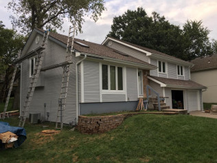 Siding installation in Blue Springs, MO
